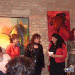 v.li.n.re: Terese Bundy, Edith Leyrer, Heidi Winkler, Maria Mazakarini, Michelle Whitfield, Foto Helga Marei