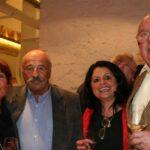 v.li.n.re. C. Mlakar, Michael Erb, Maria und Leo Mazakarini, Foto A. Pollak, Isarbote