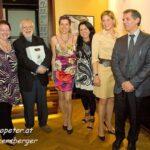 v. li. n. re: Evelyne Pallanich, Prof. Ulrich Gansert, Dr. Isolde Engeljehringer, Maria Mazakarini, Mag. Katharina Kluss, Dragan Merzan