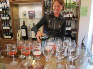 """Sektverkostung in """"Antik und Wein"""""""