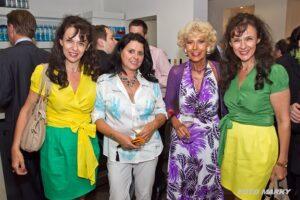 Roth-Zwillinge mit Christine Peer und Maria Mazakarini