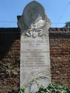 Grabdenkmal der Schriftstellerin Karoline Pichler
