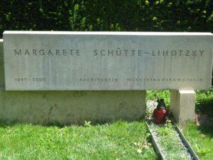 Grab der Architektin und Widerstandskämpferin Margarete Schütte-Lihotzky
