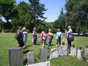 Auf dem Friedhof der zwischen 1938 und 1945 Hingerichteten