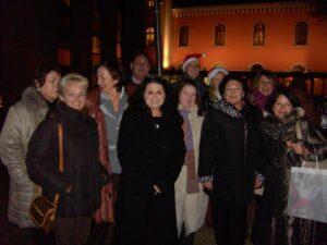Teranerinnen im City Garden des Imperial Renaissance Hotels