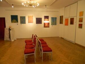 Ausstellungsraum im P. Palffy