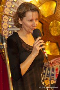 feinster Jazz von Tera-ViennART Sängerin Doris Schröder