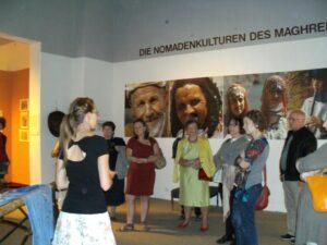 Führung durch die Afrika-Ausstellung im Schloss