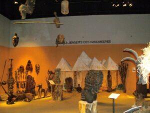 Afrika Ausstellung im Schloss