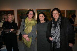 v.l.n.r. GR Martina Enzmann, Klosterneuburg, Maria Mazakarini, KR Prof. Waltraud Steinböck, C