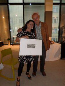 mit dem Österreichischen Künstler Kurt Phillip