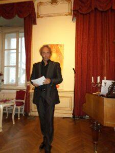 Moderator Volker Grohskopf
